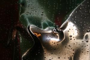 46. - Raindrops fallen on my sheet metal 12
