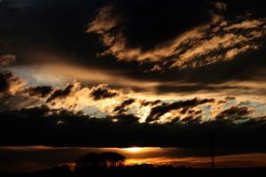 08. - Sonnenuntergang in Althegnenberg