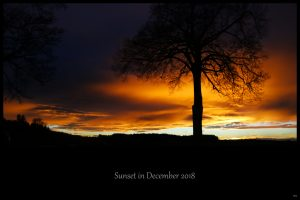 49. - Sunset in December 2018