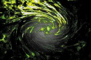 500. - The Downward Spiral Aquafoliefresco klein 1