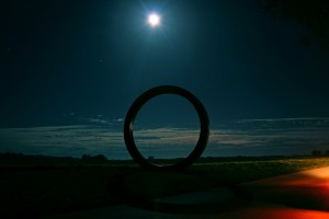 59. - Full moon over the ring